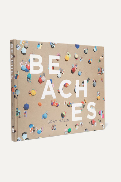 Abrams - Beaches By Gray Malin Hardcover Book - Beige