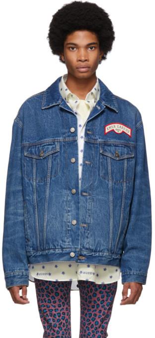 571e644ef5d9 Gucci(グッチ) ブルー メンズファッション - ShopStyle(ショップスタイル)