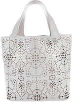 Alaia Lasercut Leather Tote