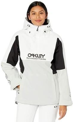 Oakley TNP Insulated Anorak (White/Grey) Women's Coat