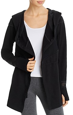 Blanc Noir Surfside Traveler Hooded Jacket