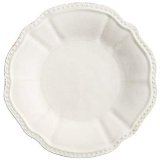 Pier 1 Imports Scallop White Dinner Plate