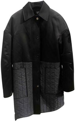 Karl Lagerfeld Paris Black Coat for Women