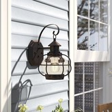 "Birch Lane Birch LaneTM Heritage Hastings Outdoor Wall Lantern Heritage Size: 13"" H x 8"" W"