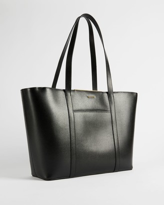 Ted Baker Saffiano Bar Detail Tote Bag