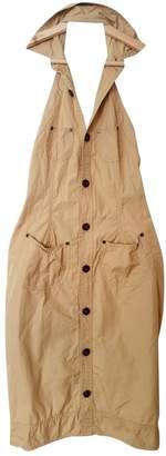 DSQUARED2 Beige Cotton Dresses