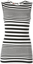 I'M Isola Marras striped tank top - women - Spandex/Elastane/Viscose - L