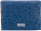 Salvatore Ferragamo textured card case - men - Leather - One Size