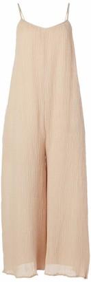 ASTR the Label Women's Sleeveless Square Neck Side Slit Keilani Midi Dress