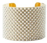 Charlotte Russe Plus Size Pearl Bead Cuff Bracelet