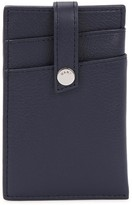 Want Les Essentiels Kennedy Navy Leather Card Holder