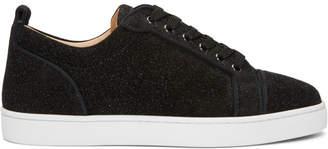Christian Louboutin Black Louis Junior Orlata Sneakers