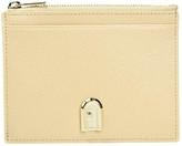 Furla 1927 Medium Credit Coin Card Case (Sand) Handbags