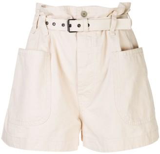 Etoile Isabel Marant Rike belted shorts