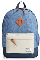 Herschel Boy's Heritage Backpack - Blue/green