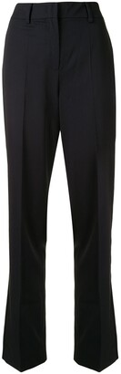 DELPOZO Straight-Leg Tailored Trousers