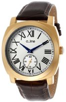 A Line a_line Women's AL-80023-YG-02-BR Pyar Analog Display Japanese Quartz Brown Watch