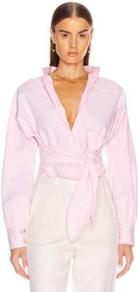 Marissa Webb Emmerson Oxford Shirt in Pink | FWRD