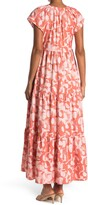 Thumbnail for your product : Donna Morgan Short Sleeve Tiered Maxi Dress