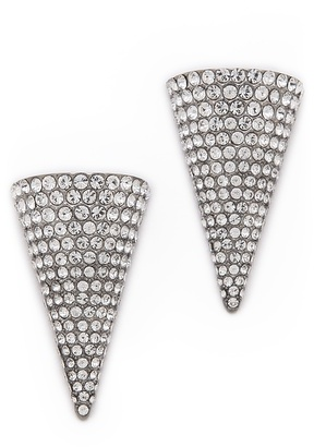 Magid Sarah Crystal Cone Stud Earrings