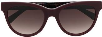 Longchamp Tortoiseshell Cat-Eye Sunglasses