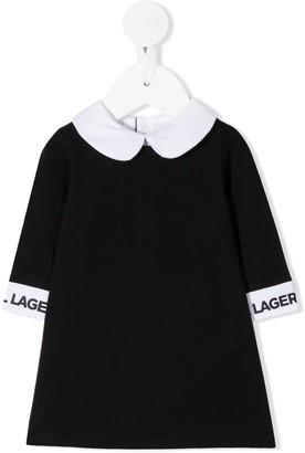 Karl Lagerfeld Paris Peter Pan Collar Dress