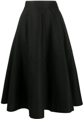 MM6 MAISON MARGIELA High-Waisted Pleated Skirt