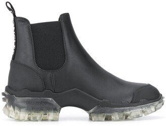 Moncler Sheer-Sole Ankle Boots