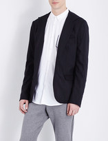 The Kooples Fitted stretch-wool jacket