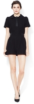 Marc by Marc Jacobs Blythe Romper with Silk Combo