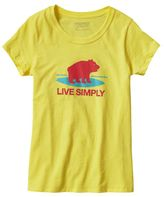 Patagonia Girls' Graphic Cotton/Poly T-Shirt