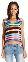 Tracy Reese Women's Sequin Top