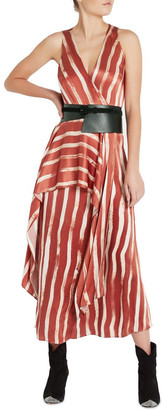 Sass & Bide Earn Your Stripes Dress Burnt