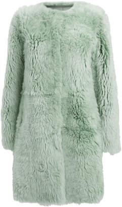 Yves Salomon Reversible Merino Shearling Coat