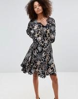 Only Floral Skater Dress