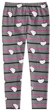 Hello Kitty Little Girls Striped Leggings