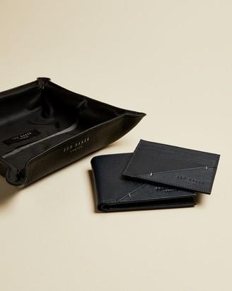 Ted Baker SPENDER Leather wallet and cardholder gift set
