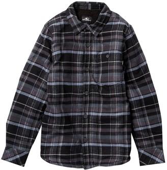 O'Neill Redmond Lined Flannel (Big Boys)