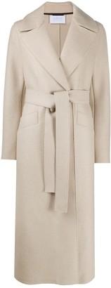 Harris Wharf London Belted Wool Coat