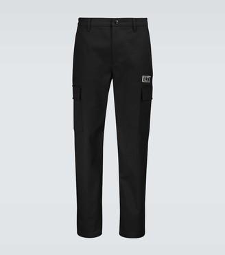 Valentino cargo pants with logo