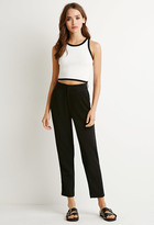 Forever 21 Pleated Slim Trousers