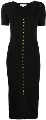 MICHAEL Michael Kors Snap-Button Dress