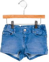 Bonpoint Girls' Mini Denim Shorts