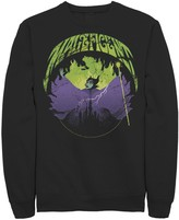 Disney Men's Disney's Sleeping Beauty Silhouette Maleficent Rock Theme Fleece