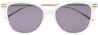 Bottega Veneta Round-Frame Tinted Sunglasses