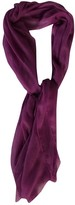 Agnona Purple Cashmere Scarves