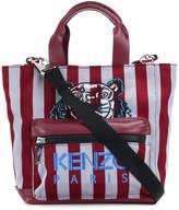 Kenzo Tiger striped tote
