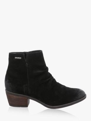 Josef Seibel Daphne 50 Block Heel Ankle Boots, Black