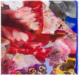 Roberto Cavalli floral scarf