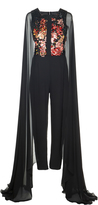 Elie Saab Embroidered Jumpsuit
